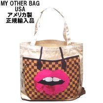My Other Bag(マイアザーバッグ) エコバッグ My Other Bag セレブ リップ エコ トートバッグ  正規品  即納