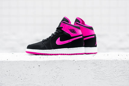 【送料無料】 AIR JORDAN 1 RETRO HIGH GG - BLACK/VIVID PINK