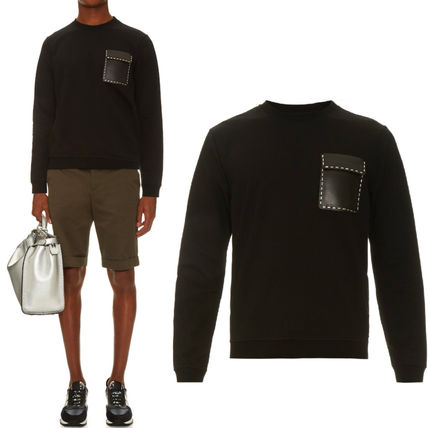 FE931 FENDI METAL STITCHING SWEATSHIRT