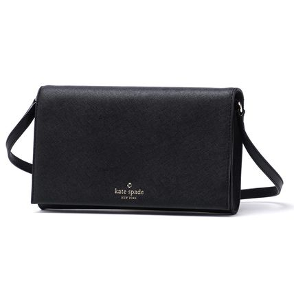 【KATE SPADE】バッグ☆CALI LEATHER BLACK★2016春夏新作♪
