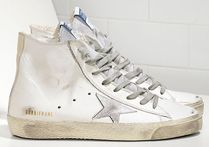 【関税負担】GOLDEN GOOSE 16SS FRANCY WHITE SILVER LEATHER