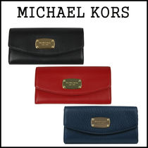 【即発★3-5日着】MICHAEL KORS★JET SET ITEM SLIM FLAP★