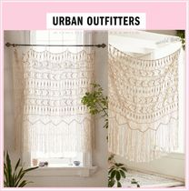 ★Urban Outfitters★ ボヘミアンフリンジカーテン 追跡No付♪