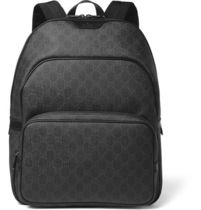 GUCCI(グッチ)GG coated-canvas backpack【関税送料込で安心】