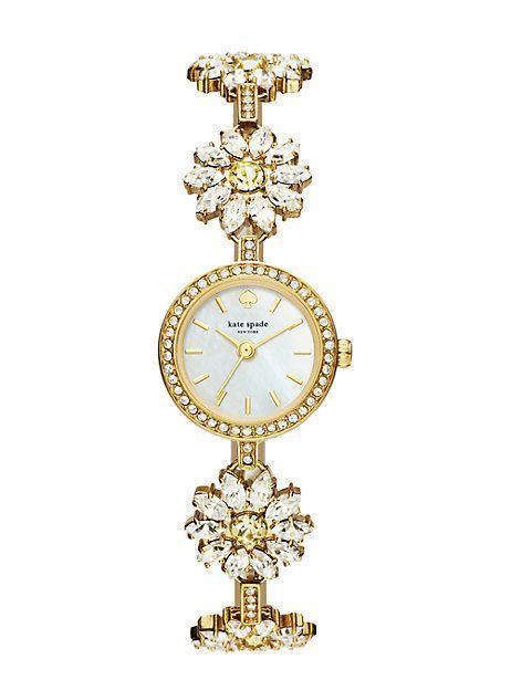 【kate spade】日本完売☆daisy crystal bracelet watch