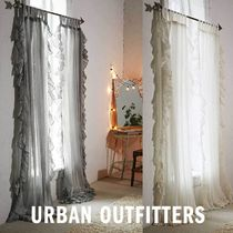 Urban Outfitters カーテン 2枚組 Ruffle Gauze Curtain