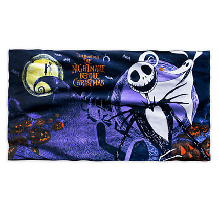 US Disney限定 Nightmare Before Christmas☆ビーチタオル