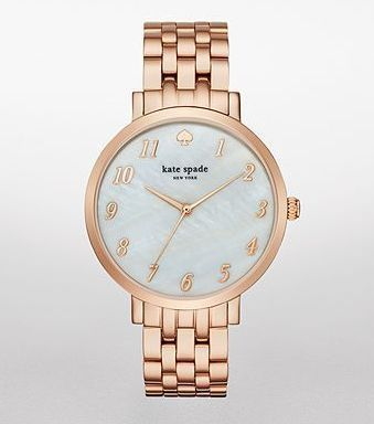☆追尾/関税込☆kate spade Rose Gold-Tone Monterey Watch