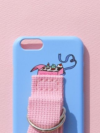 SECOND UNIQUE NAME スマホケース・テックアクセサリー (SECOND UNIQUE NAME) SUN CASE LIGHT BLUE LIGHT PINK (4)