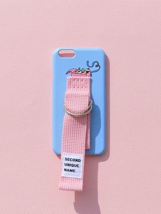 SECOND UNIQUE NAME スマホケース・テックアクセサリー (SECOND UNIQUE NAME) SUN CASE LIGHT BLUE LIGHT PINK (5)