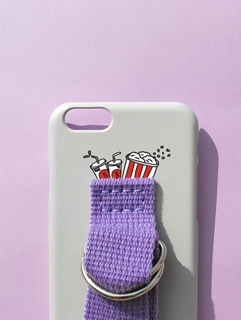 (SECOND UNIQUE NAME) SUN CASE LIGHT GRAY LIGHT PURPLE