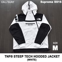 Mサイズ!Supreme (シュプリーム) x TNF STEEP TECH SWEATSHIRT