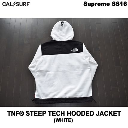 Supreme パーカー・フーディ Mサイズ!Supreme (シュプリーム) x TNF STEEP TECH SWEATSHIRT(4)