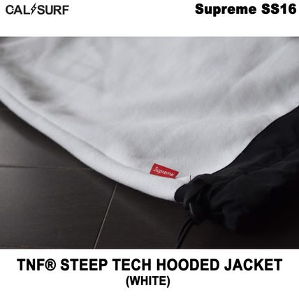 Supreme パーカー・フーディ Mサイズ!Supreme (シュプリーム) x TNF STEEP TECH SWEATSHIRT(9)