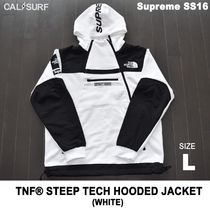 Lサイズ!Supreme (シュプリーム) x TNF STEEP TECH SWEATSHIRT