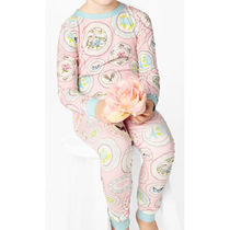 BedHead Pajamas キッズパジャマ Pink Plat Du Jour 130 [即発]