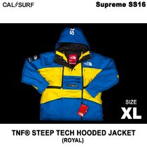 XLサイズ!Supremeシュプリーム x TNF STEEP TECH HOODED ROYAL