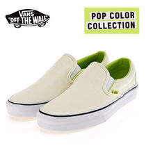 VANS正規品★POP COLOR COLLECTION , CLASSIC SLIP ON★安心発送