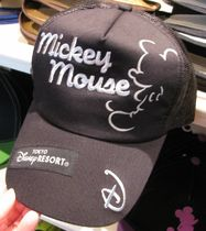Mickey Mouseメッシュキャップ(黒)東京ディズニーリゾート