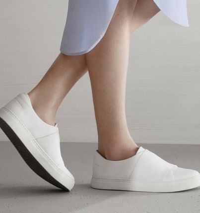 """""""COS""""WRAP-OVER LEATHER SNEAKER"""