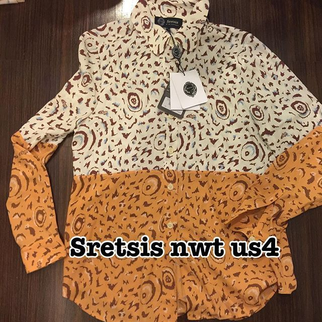 SRETSIS SHIRT★New US4★