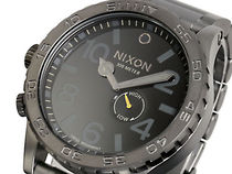 NIXON ニクソン 腕時計 51-30 A057-680 ALL GUNMETAL BLACK