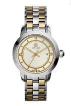 Tory Burch TORY WATCH, 2TONE STAINLESS STEEL/IVORY, 37 MM