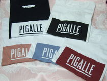 PIGALLE(ピガール) Tシャツ・カットソー 確保済み!!国内発送◆PIGALLE ピガールボックスロゴ Tシャツ