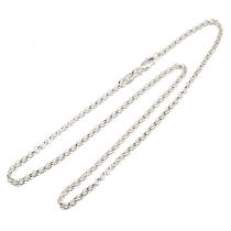 【CHROME HEARTS クロムハーツ】チェーン 24inch Roll Chain