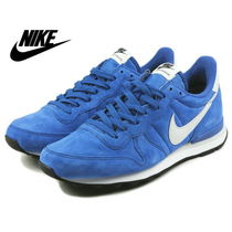 【品切れ続出! NIKE】INTERNATIONALIST LEATHER♪Game royal