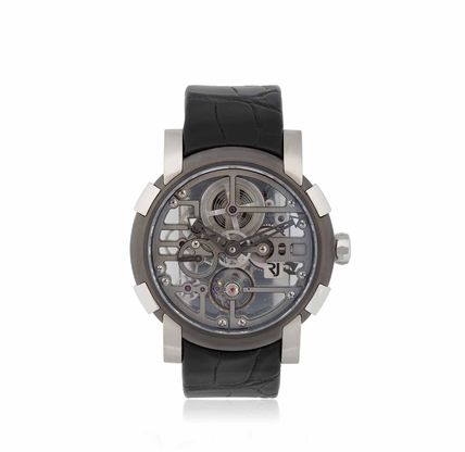 〓SKYLAB HEAVY METAL SKELETON WATCH〓