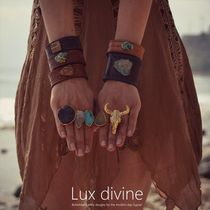 ★GYPSY STEER Electroformed Ring GOLD★Luxdivine