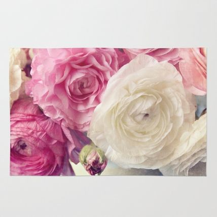 Society6◆洗えるラグマット◆shades of pink by Sylvia Cook