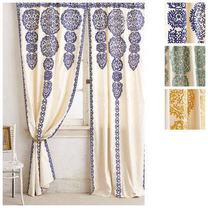 Are Anthropologie curtains 2 pairs Marrakech