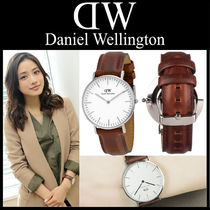 ★超人気 Daniel Wellington Classic St Mawes White Dial Brown