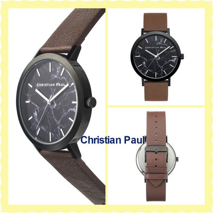 16SS関税・送料込【Christian Paul】腕時計BRIDPORT MARBLE 43MM