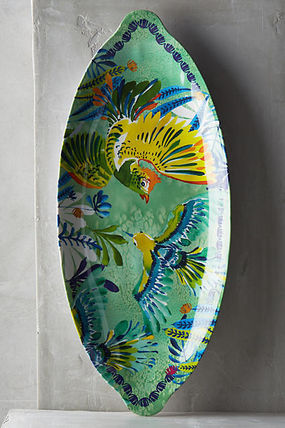 Anthropologie party plates