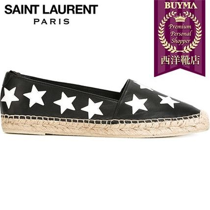 SAINT LAURENT┃16SS┃STAR PATCH ESPADRILLES