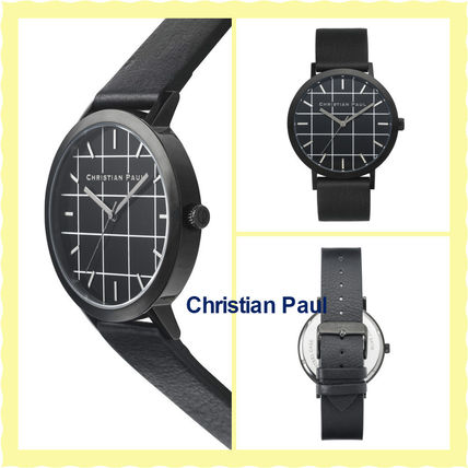 16SS関税・送料込【Christian Paul】腕時計THE STRAND GRID 43mm