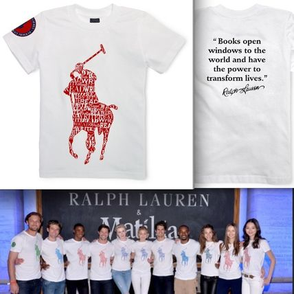 Ralph Lauren Global Literacy プログラムT-ENGLISH/BOYS-SIZE