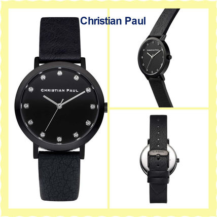 16SS関税・送料込【Christian Paul】腕時計THE STRAND LUXE 35mm