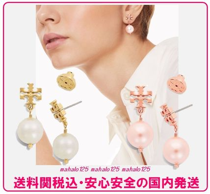 ★送料税込★Tory Burch CRYSTAL-PEARL DROPピアス