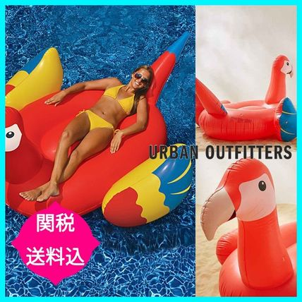Urban Outfitters★パロット オウム浮き輪 プールフロート