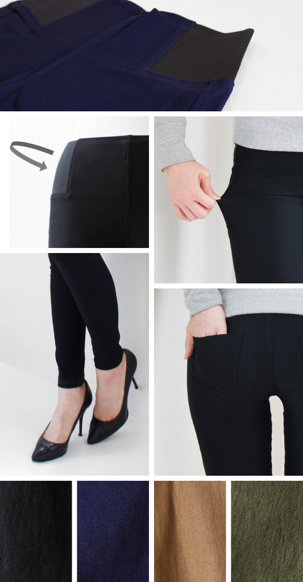 【NEW】【Pompadour】Stretch Pants -ストレッチ パンツ-