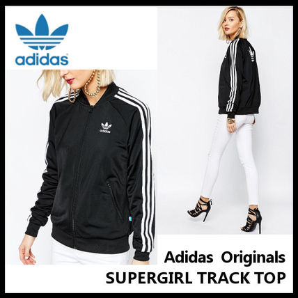 大人気 adidas Women's SUPERGIRL TRACK TOP AJ8432 ジャージ