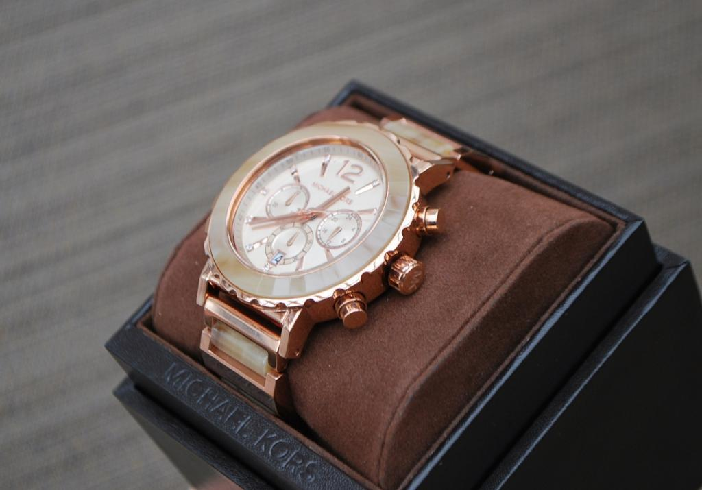 ★SALE大人気★Michael Kors Lillie Rose Gold Ladies MK5791