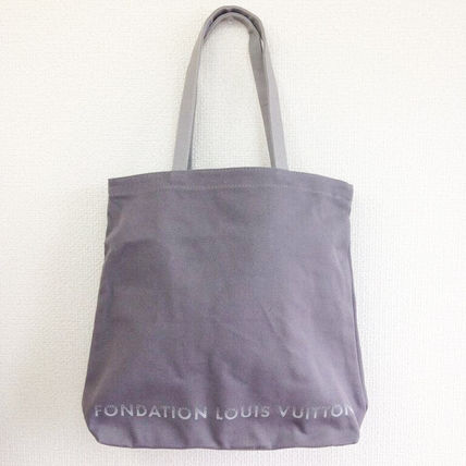 Louis Vuitton トートバッグ 限定☆パリ ルイヴィトン財団美術館トートバッグ ルイビトンgrey