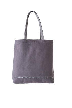 Louis Vuitton トートバッグ 限定☆パリ ルイヴィトン財団美術館トートバッグ ルイビトンgrey(2)