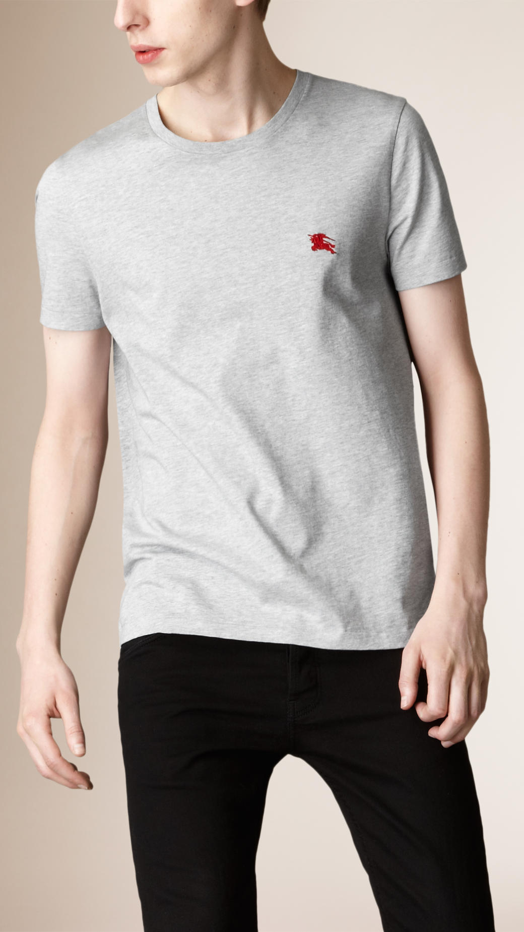 【関税負担】 Burberry 16ss Liquid-soft Cotton T-Shirt