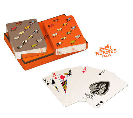 Hermes rare items * HERMES * Poker Cards poker cards